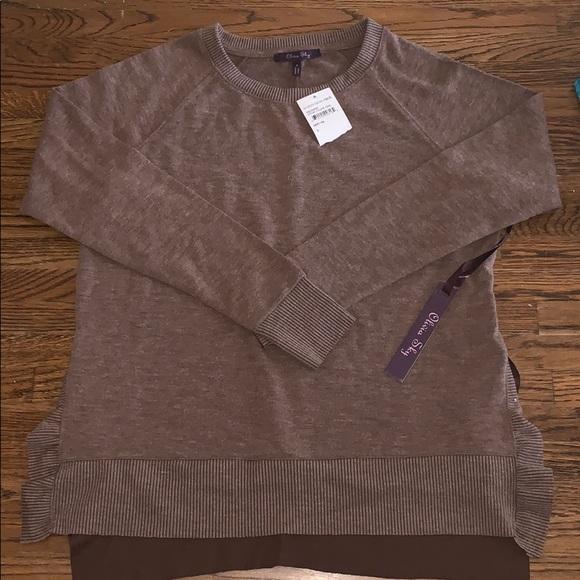 Olivia Sky Sweaters - Brown Sweater